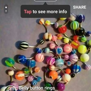 Jewelry - Belly Button Rings